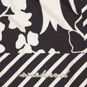 Dante Floral Silk Scarf, ${color}