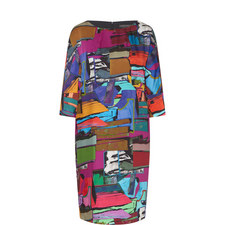 Danubio Multi Pattern Dress