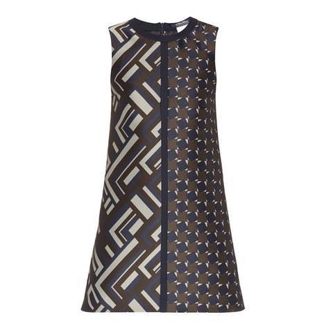 Dax Patterned Shift Dress, ${color}