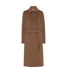 Enza Belted Long Coat