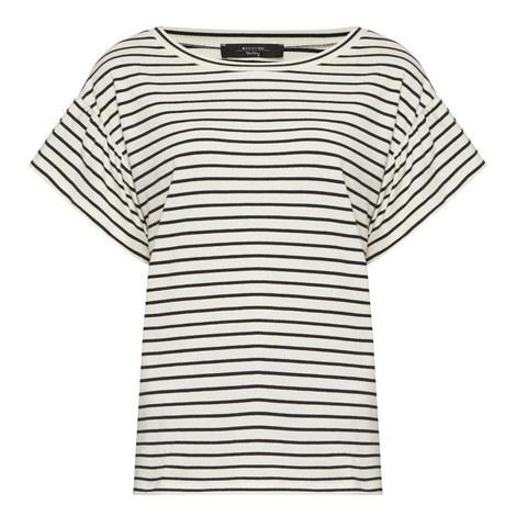Era Flutter Sleeve Striped T-Shirt, ${color}