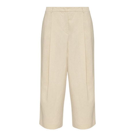 Ermes Wide Fit Cropped Trousers, ${color}