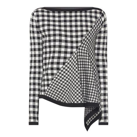 Ascona Check Sweater, ${color}