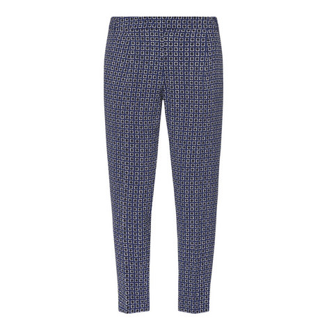 Esperia Patterned Trousers, ${color}