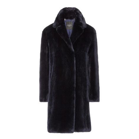 Evelin Faux Fur Coat, ${color}