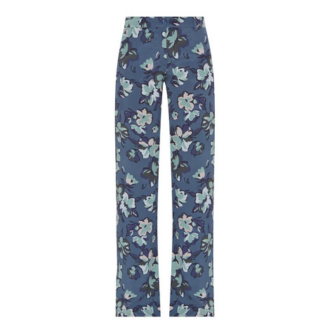 Faggio Floral Wide Fit Trousers, ${color}