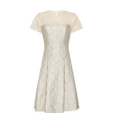 Falena Jacquard Dress