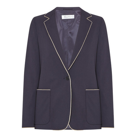 Faretra Piped Wool Jacket, ${color}