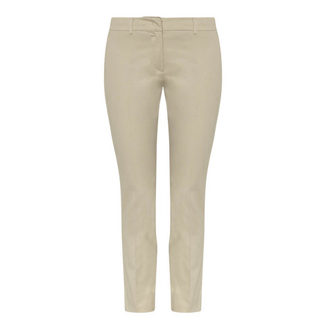 Felino Slim Fit Cigarette Trousers, ${color}