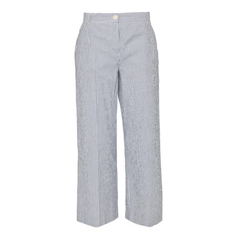 Fanfara Striped Trousers, ${color}
