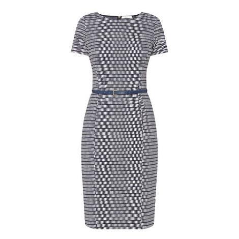 Felino Patterned Dress, ${color}