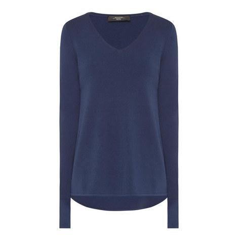Fianco V-Neck Sweater, ${color}
