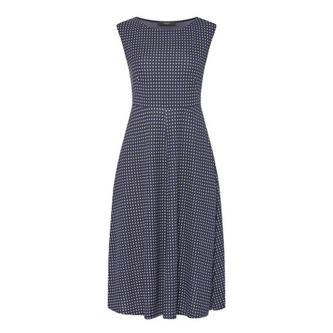 Fiordo Jersey Print Dress, ${color}