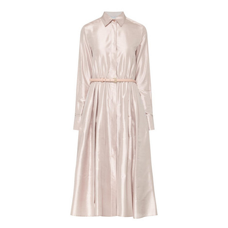 Fiorire Belted Shirt Dress, ${color}