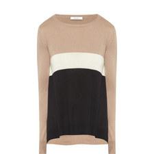 Fiordi Block Stripe Silk-Mix Sweater
