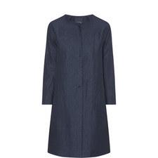 Fleur Collarless Coat