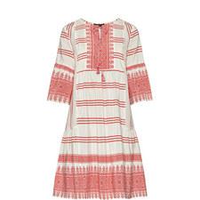 Floria Patterned Dress