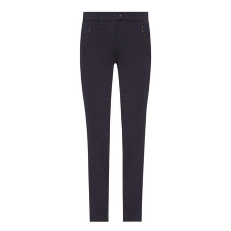 Fontana Straight Fit Wool Trousers, ${color}