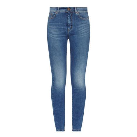 Fresco High-Waist Skinny Jeans, ${color}