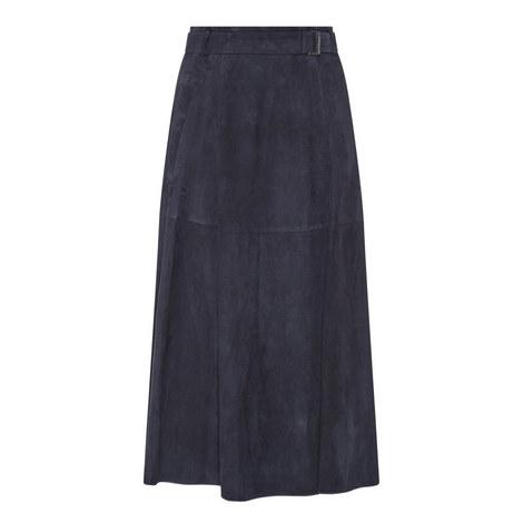 Genero Suede Skirt, ${color}