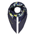 Gessati Print Scarf, ${color}