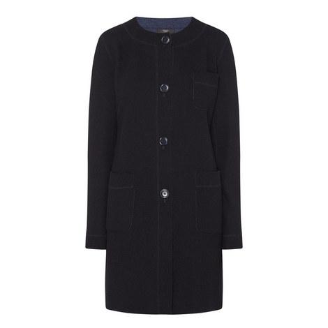 Giunto Collarless Coat, ${color}