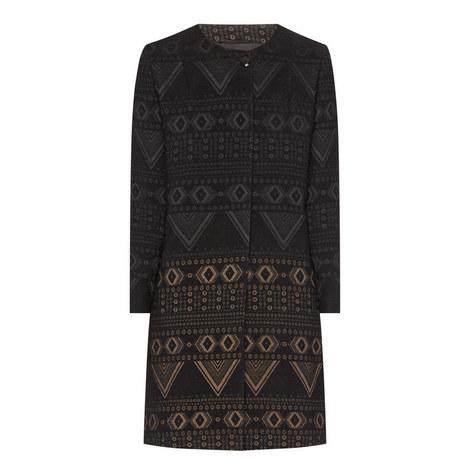 Giara Single Breasted Coat, ${color}