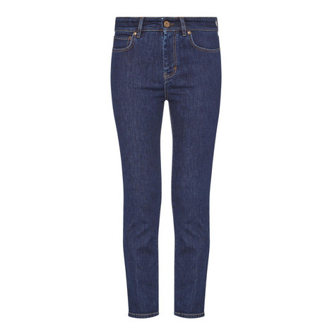 Gineceo High-Rise Jeans, ${color}