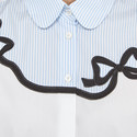 Ginnico Bow Detail Shirt, ${color}