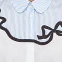 Ginnico Bow Detail Shirt, ${color}