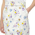 Ginseng Lavender Print Skirt , ${color}