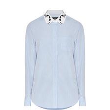 Ginseng Cat Collar Shirt