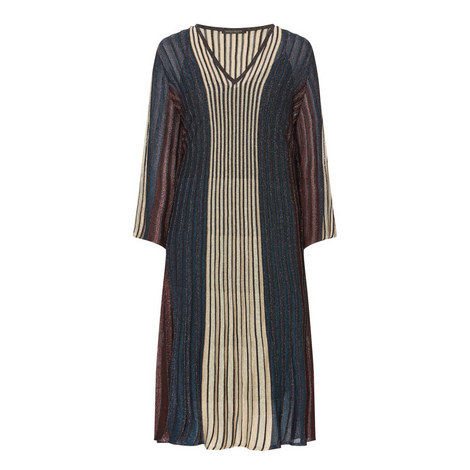 Gioiello Stripe Dress, ${color}