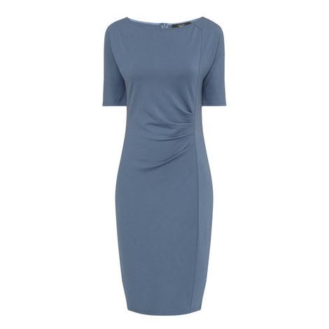 Giunchi Jersey Short Sleeve Dress, ${color}