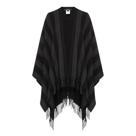 Giunto Knitted Poncho, ${color}