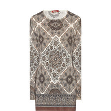 Giusto Knit Paisley Top