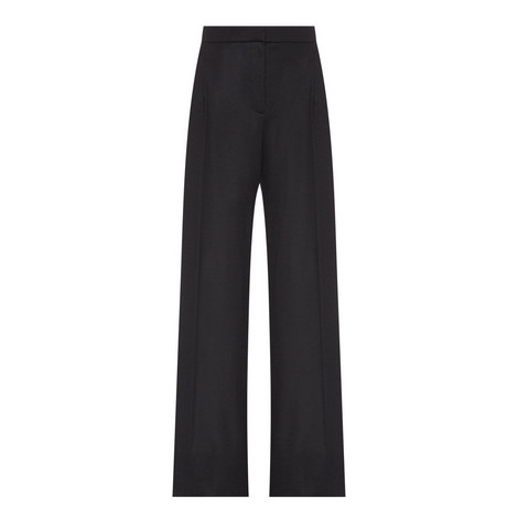 Virgin Wool Trousers, ${color}