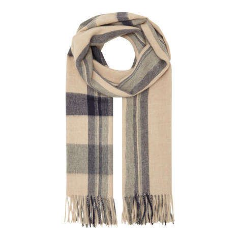 Hieros Checked Striped Scarf, ${color}