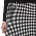 Check Pencil Skirt , ${color}