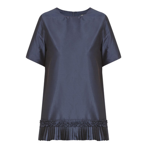 Hiris Pleated Top, ${color}