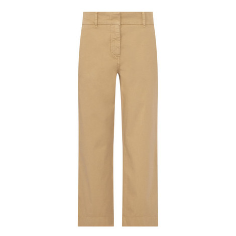 Huesca Cropped Trousers, ${color}