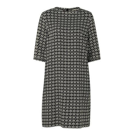 Jana Geometric Dress, ${color}