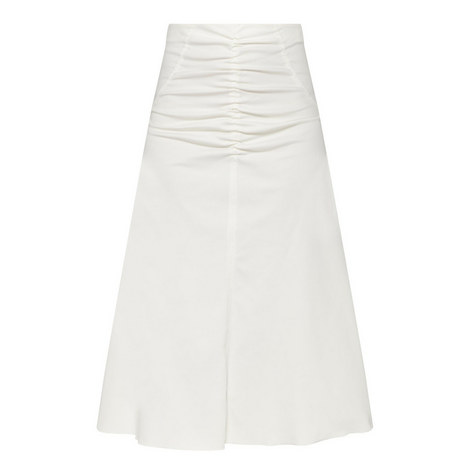 Kerry Twist Ruched Detail Skirt, ${color}