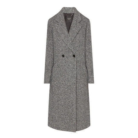 Latina Relaxed Fit Tweed Coat, ${color}