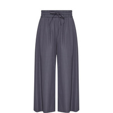 Wide Fit Cotton Trousers