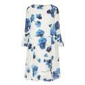 Lelia Floral Ruffle Cuff Dress, ${color}