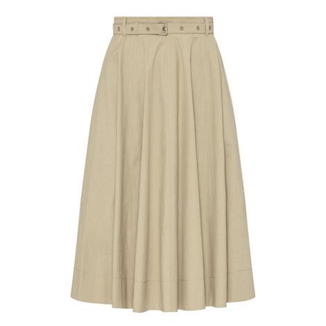 Lepre Belted Midi Skirt, ${color}