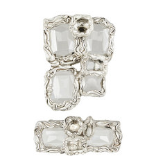 Set of 2 Vintage-Style Brooches