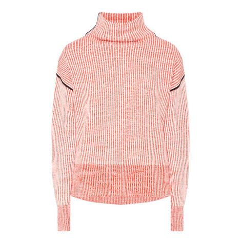 Lipari Funnel Neck Cashmere Sweater, ${color}