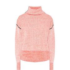 Lipari Funnel Neck Cashmere Sweater
